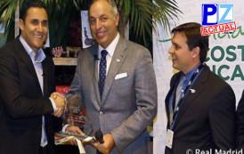 Navas es declarado por el ICT embajador turístico de Costa Rica