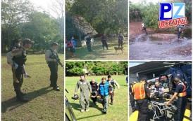 Fuerza Pública y Cruz Roja rescatan a niño indígena herido en Punta Burica.