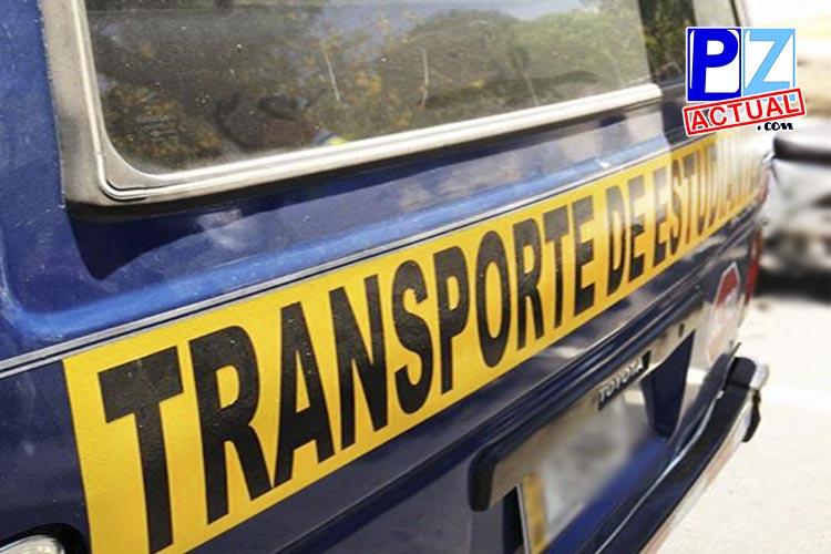 Sea fiscalizador del servicio de transporte de estudiantes que usted contrata para sus hijos.