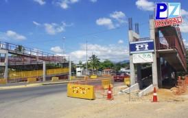 En abril  estará listo  el  puente peatonal que se construye en Pérez Zeledón.