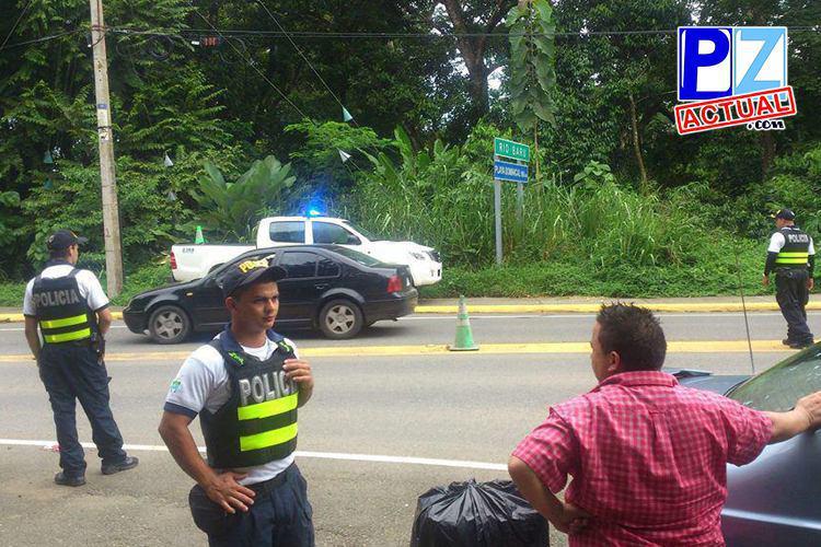 Enero y Febrero dejan 638 detenidos por la Fuerza Pública en Pérez Zeledón, Buenos Aires y Osa.