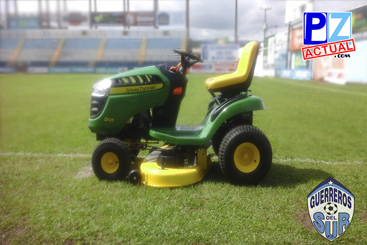Municipalidad entrega nuevo Chapulín para mantenimiento del Estadio Municipal de Pérez Zeledón.