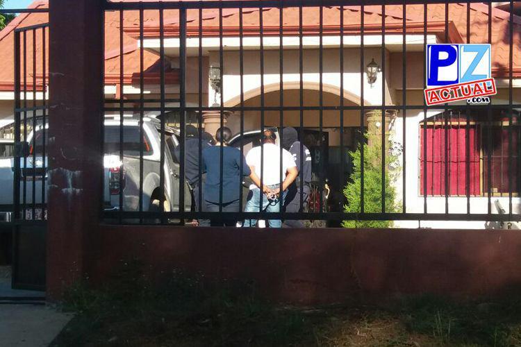 Allanamientos  en Pérez Zeledón y Zona Sur durante esta mañana dejaron 8 detenidos.