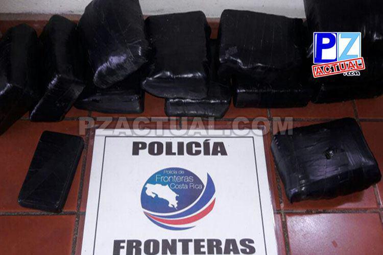 Policía de Fronteras detecta paquetes con droga camuflados en dos maletines a mujer en la Zona Sur.
