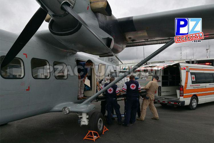 Nuevo avión policial MSP-010 realizó su primer misión en Golfito.