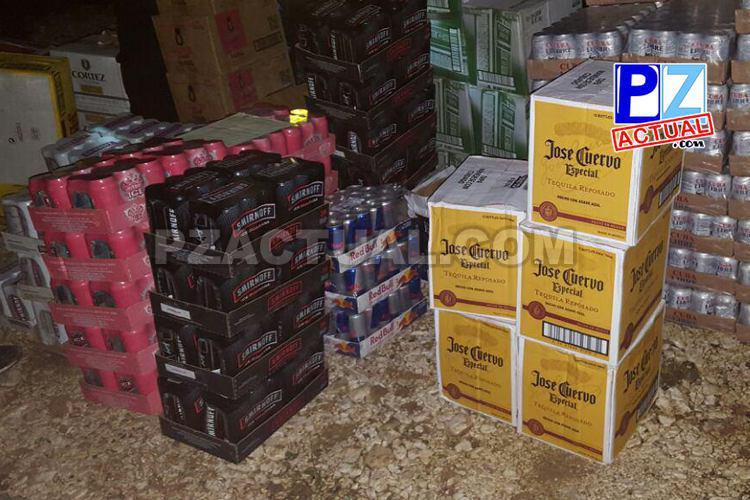 Policía de Fronteras y Fuerza Pública decomisaron fuertes contrabandos de licor en Zona Sur del país.