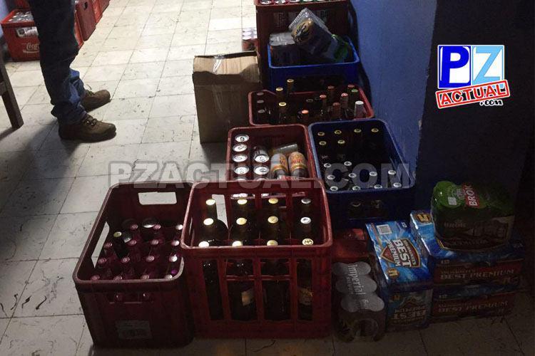 Fuerza Pública decomisó 337 unidades de licor en Coto Brus.