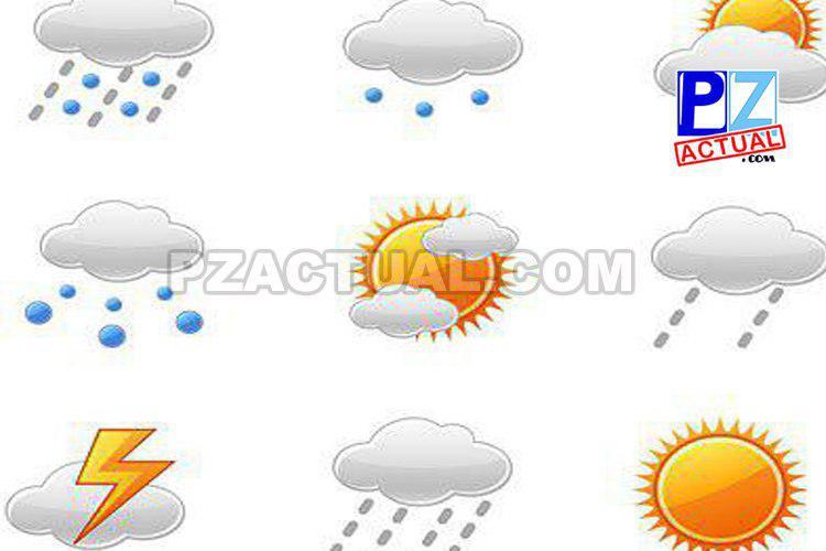 Condiciones aptas para precipitaciones en el Pacífico Central y Sur.
