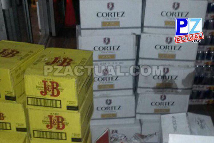 Fuerza Pública decomisa cerca de 3.000 mil unidades de licor en Buenos Aires de Puntarenas.