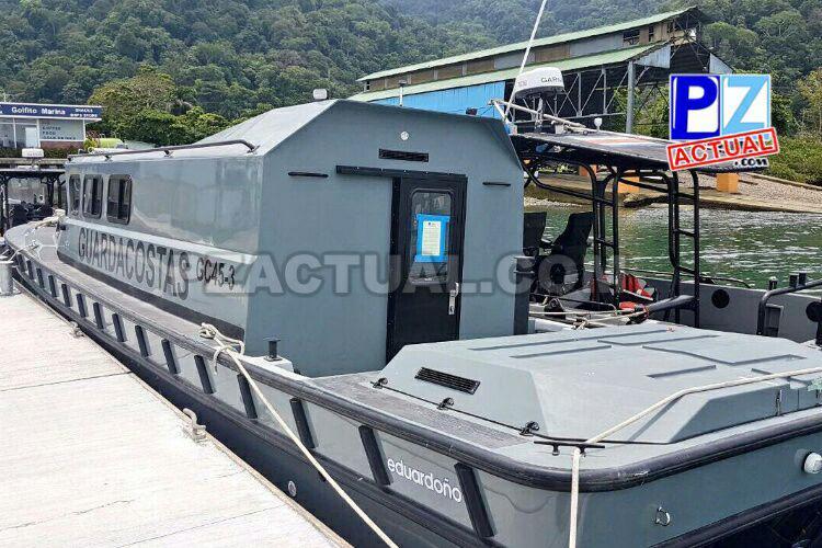 Se fortalece seguridad del Pacífico Sur con nueva Estación de Guardacostas en Golfito.