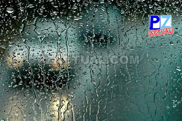 Condiciones lluviosas intermitentes persisten en algunos puntos del país.
