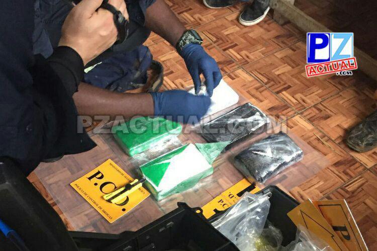 Fuerza Pública detuvo anoche a dos sujetos con carga de cocaína en San Vito.