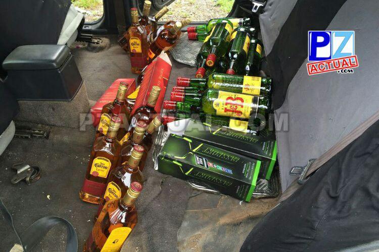 Oficiales de Fuerza Pública decomisan 411 botellas de licor de contrabando en Parrita.
