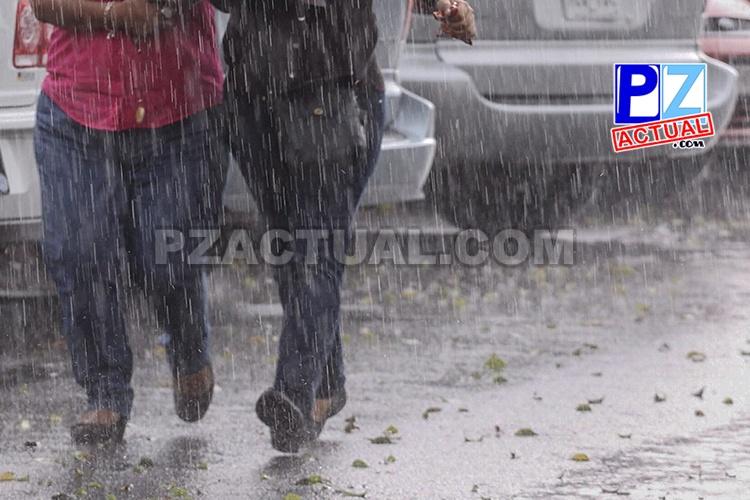 Condiciones muy lluviosas en este miércoles.