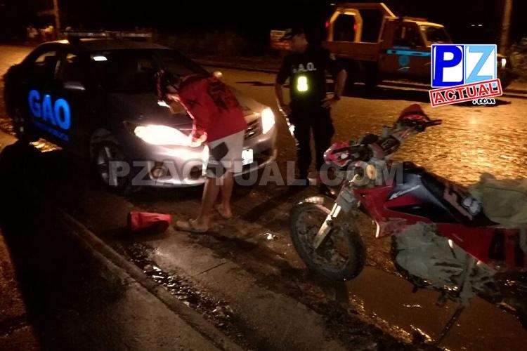 GAO realiza operativo en Quepos para recuperar motocicletas robadas o alteradas.