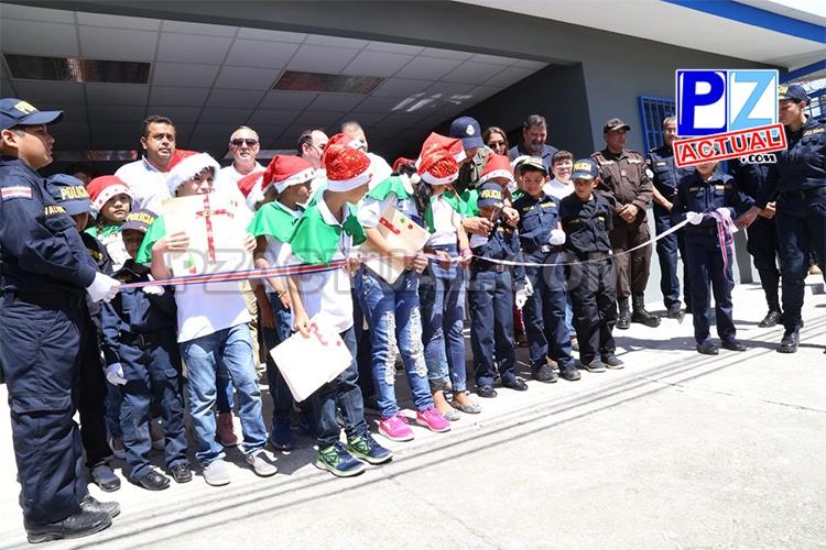 Policía de Fronteras asume recién remodelado puesto policial en Paso Canoas, frontera sur.