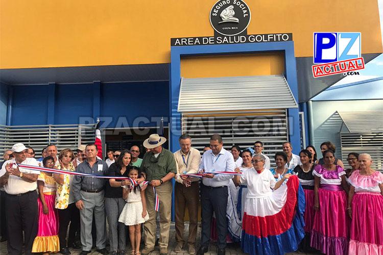 45 mil habitantes de Golfito y Osa disponen de nueva Área de Salud.