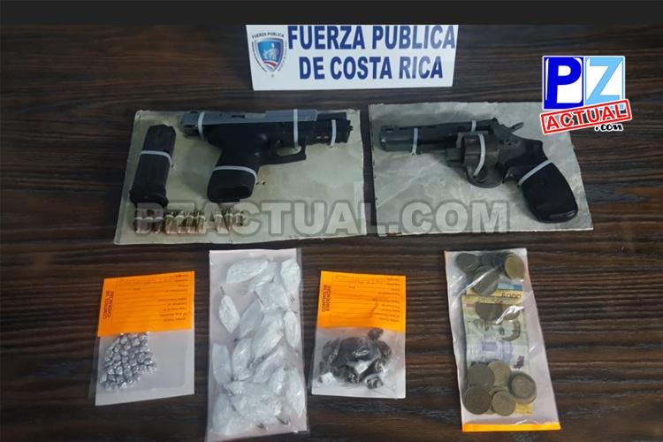 Detienen en Quepos a tres personas con droga oculta en vehículo y quienes habrían disparado