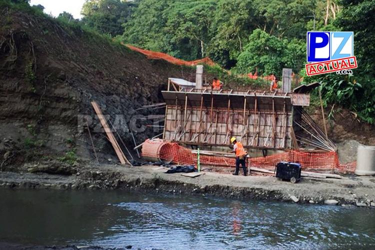 5.643 personas se verán beneficiadas con construcción de puentes en Alto Comte.