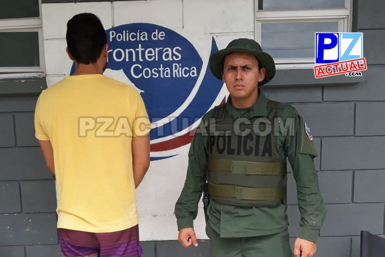 Policía de Fronteras detuvo en Golfito a sujeto que les ofreció 10 mil colones de mordida.