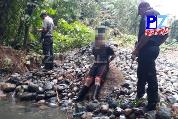 Operativo sorpresa en el Parque Nacional Corcovado dejó la captura de cinco personas.