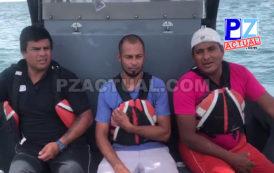 Guardacostas rescató  pescadores náufragos en Quepos.