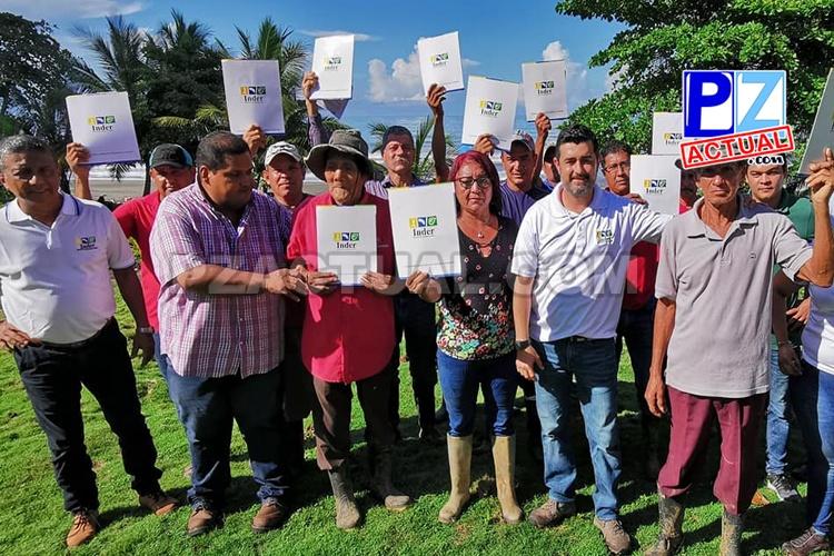 Por primera vez en la historia se entregan concesiones en Punta Burica, zona sur de nuestro país.
