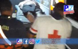 Guardacostas trasladan de urgencia a marinero gravemente herido en aguas del Pacífico.