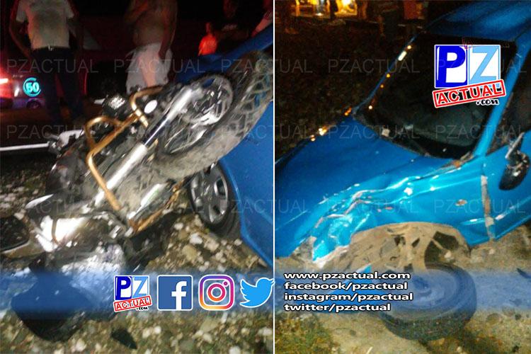 Hombre perdió la vida tras accidente de tránsito en Osa.