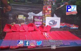 Policía de Fronteras intercepta los mayores cargamentos de pólvora ilegal en lo que va del fin de año.