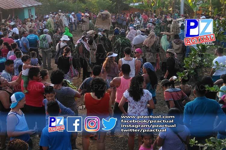 Patrimonio inmaterial, Rey Curré, celebra su tradicional Juego de los Diablitos.