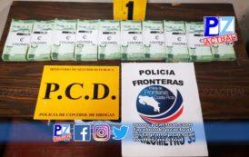 Policía de Fronteras aprehende a un conductor y decomisa dinero oculto en vehículo en Golfito.