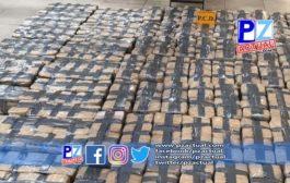 Autoridades dan con 502 kg de cocaína a 118 millas náuticas de las costas de Golfito.