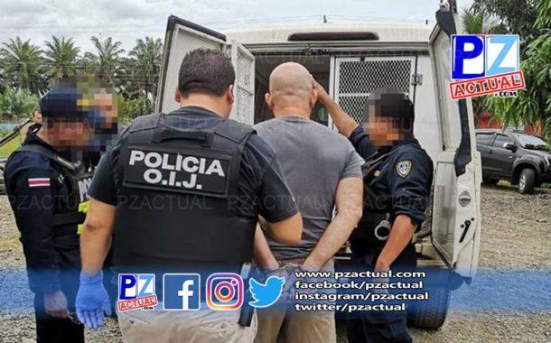 OIJ detuvo en Parrita a hombre sospechoso de Amenazas a Funcionario Público.
