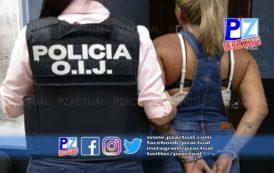 Una mujer sospechosa de homicidio fue detenida por el OIJ de Jacó.