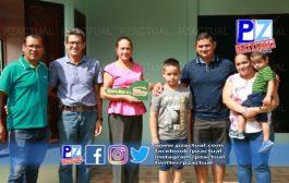 CoopeAgri entrega la casa número 81 con el programa Ilusiones Navideñas.