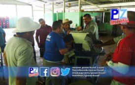 Productores de café de la Zona Sur estrenan maquinaria para mejorar su producción.
