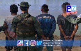 Policía captura a tres sujetos y decomisa cargamento de marihuana en Sierpe de Osa.