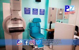 Hospital Escalante Pradilla recibió nuevo mamógrafo digital, de última tecnología.
