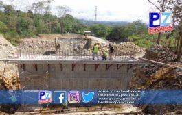 Construcción del nuevo puente en General Viejo avanza en un 24%.