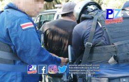 PCD captura a los principales distribuidores de droga en comunidad del sur.