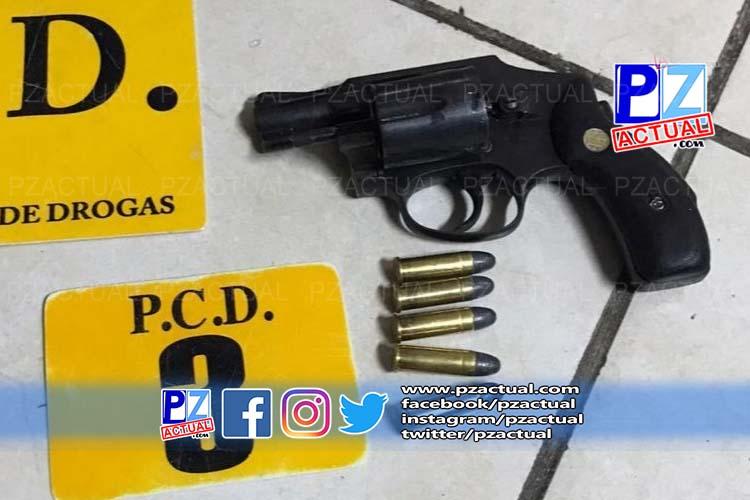 Fuerza Pública intercepta a extranjero armado y con droga en Coto Brus.