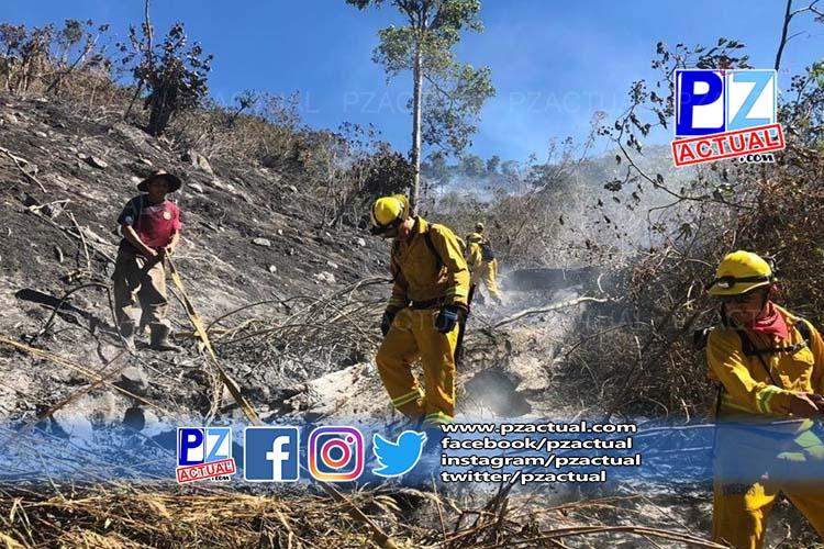 Incendio provocado en San Pedro de Pérez Zeledón ya fue controlado en su totalidad.