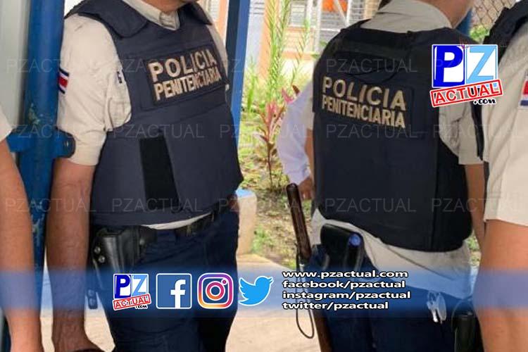 Cuatro policías penitenciarios y dos reos aislados tras contacto con médico contagiado en Pérez Zeledón.