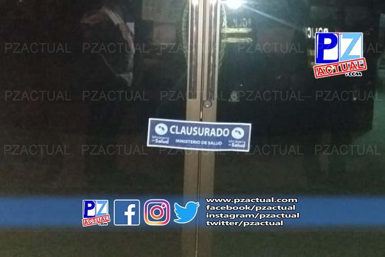 Fuerza Pública clausura gimnasio e iglesia en Pérez Zeledón.