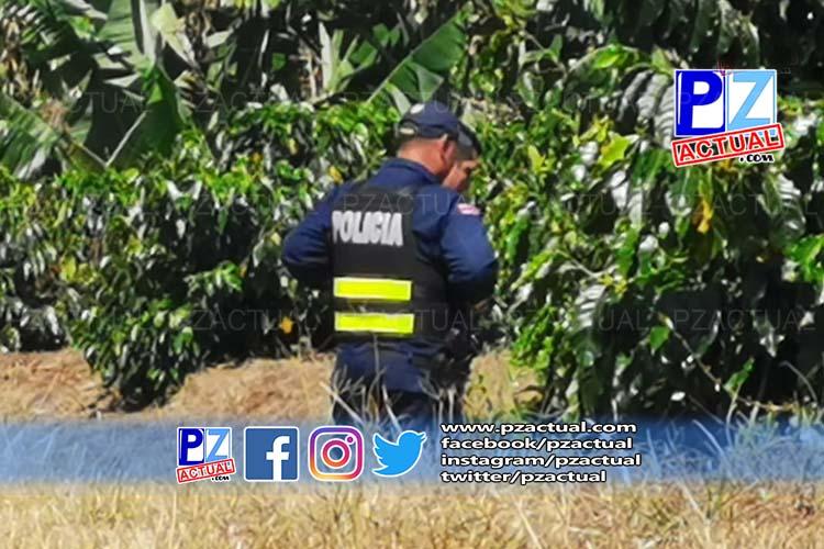 Autoridades investigan hallazgo de cuerpo calcinado en San Vito de Coto Brus.